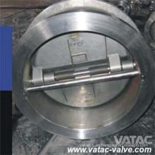 ANSI Cl150 # / Cl300 # Válvula de retención de doble placa Wafer / Lug / RF