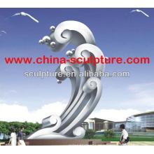 Escultura de acero inoxidable Escultura de metal