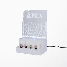 Акриловая витрина APEX e-Liquid Juice со светодиодной подсветкой