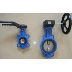 Electric soft sealed butterfly valve