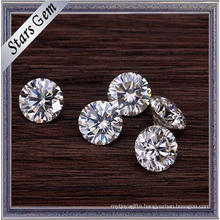The Best Quality E/F White Color Round 1.5 Carat Moissanite Stones at Wholesale Price