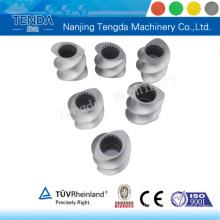 Piezas de tornillo resistentes al desgaste de la máquina de extrusión