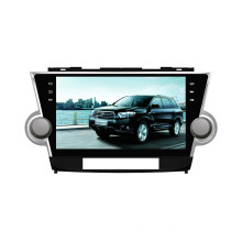 Yessun 10,2 pouces voiture DVD GPS pour Toyota Highlander (HD1001)