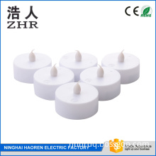 Battery Operated Flickering Flameless LED Tea Light Candle Holder