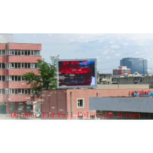 Full Color Outdoor Advertising Led Display Screen P10 , Cabinet Size 640 * 480mm