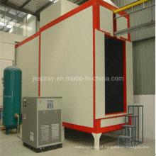 Equipamento de revestimento a pó com forno de secagem