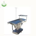 mesa de operaciones veterinaria de acero inoxidable