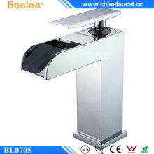Beelee Bl0705 Robinet de salle de bain cascade en laiton à levier simple