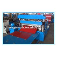 Bobina de aço endireitamento e corte de máquina