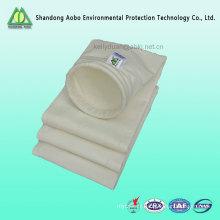 Approvisionnement en usine Tissu filtrant en polyester hydrofuge et oléofuge pour le filtre à manches