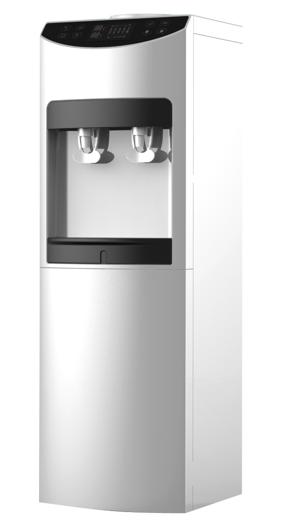 Standing Water Dispenser with Compressor