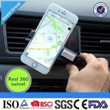 Support de téléphone mobile portable universel de voiture de logo fait sur commande portatif