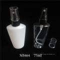 Kosmetische Plastikflasche für kosmetische Flasche 75ml 250ml (NB464)