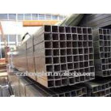 Geschweißte galvanisierte quadratische Stahlrohr