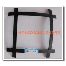 Hochleistungs-Stahl-Kunststoff-Geogitter Preise