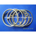 Bague chaude en métal et anneau et boucle de mode à prix abordable