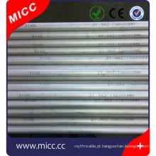 Tubulação de aço inoxidável dos SS 310 / tubo de aço inoxidável ANSI 316 quanlity alto