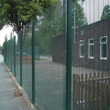 Welded Pvc 358 Safety Fence Design
