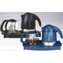 Bandeja de té eléctrico con caldera de 1,7 L, 1.4L tetera