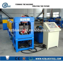 Steel Galvanized Ridge Cap Roll Forming Machine, Hydraulic Roof Ridge Making Machine