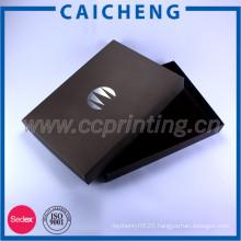 Custom Printed Luxury Rigid Cardboard Apparel Packaging Box