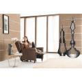 Кожаный диван из натуральной кожи из шезлонга с электроприводом (791)