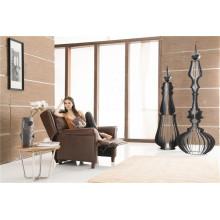 Canapé à encastrer électrique en cuir de chaise en cuir véritable (791)