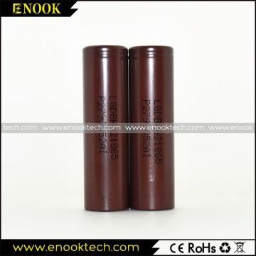 meilleure vente LG HG2 3000mAh 20 a batterie e-cigarette