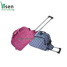 Moda carrinho mala de viagem, saco de bagagem de senhoras (YSTROB00-024)
