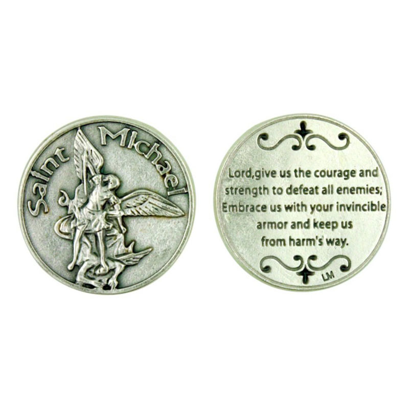Saint Michael Archangel Coins
