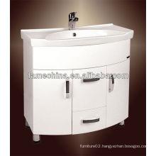 High Gloss pvc kitchen cabinets