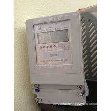 Three Phase Static Active Energy Kwh Meter with Multi Tariff