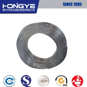 Certification ISO Ungalvanized Carbon Steel Wire