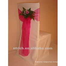Cheap wedding chair cover,white chair cover whosale