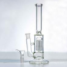 Single Tree Water Tube Hookah Glass Smoking Water Pipes (ES-GB-323)