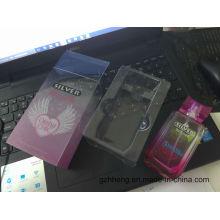 Caixa de embalagem de cosméticos de plástico personalizado para perfume, máscara, conjunto de cuidados da pele