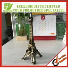 Paris Eiffel Tower Craft Art Statue Estatua Escritorio Habitación Decoración regalo