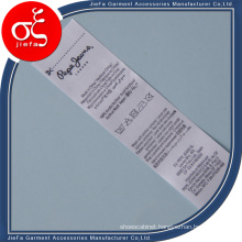 Printing Label for Main Label/Care Label
