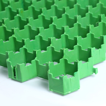 Paver polímero de grama hdpe geocell