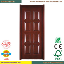 PVC Wooden Door PVC Wood Door Solid Wooden Door