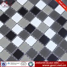 china atacado misturado mosaico de vidro para o projeto da parede do quarto