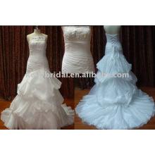 Neue Mermai Designs Porzellan Fabrik Brautkleid