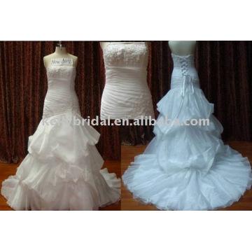 New Mermai Designs china factory wedding dress