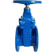 Válvula de compuerta de cuña de goma DIN F4