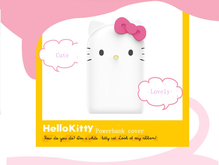 Cute Portable Powerbank Case