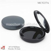Com espelho MAC cosmético vazio redondo caso compacto fornecedor