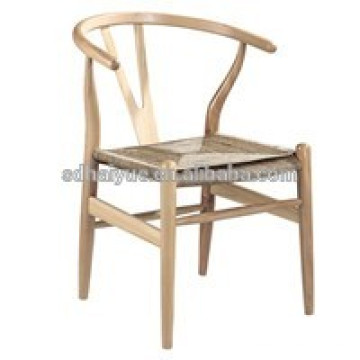 2017 high quality Promotional Bent Wood Canteen Chair Dining Chair with Rattan Seat