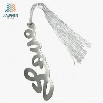 Custom Logo Stainless Steel Letter Bookmark in Metal for Promotional Gift