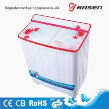 Tempered Glass Cover 8.5KG Capacity Twin Tub Washing Machine