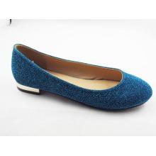 Zapatos planos del vestido de las nuevas mujeres del estilo (HCY03-120)